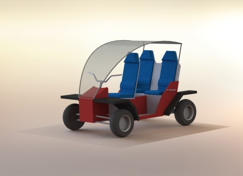 Latest vehicle render